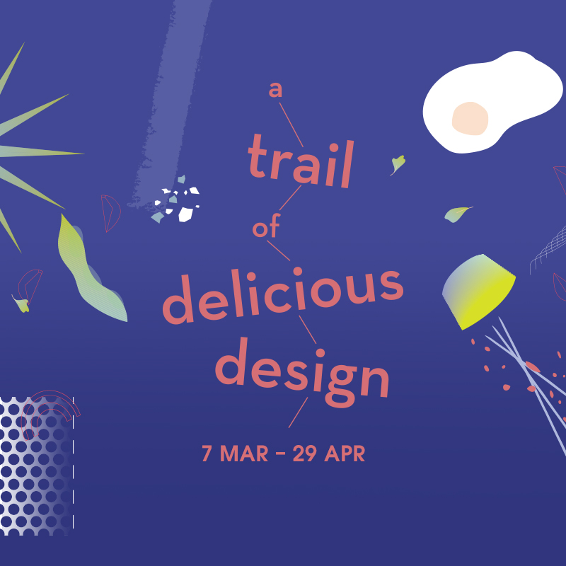 a trail of delicious design