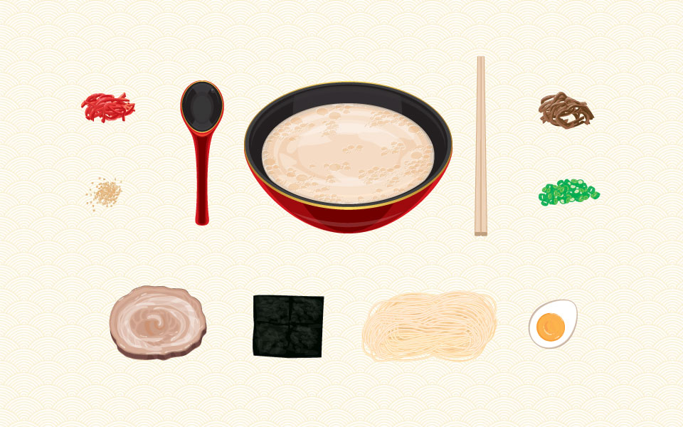 Ingredients for Ramen