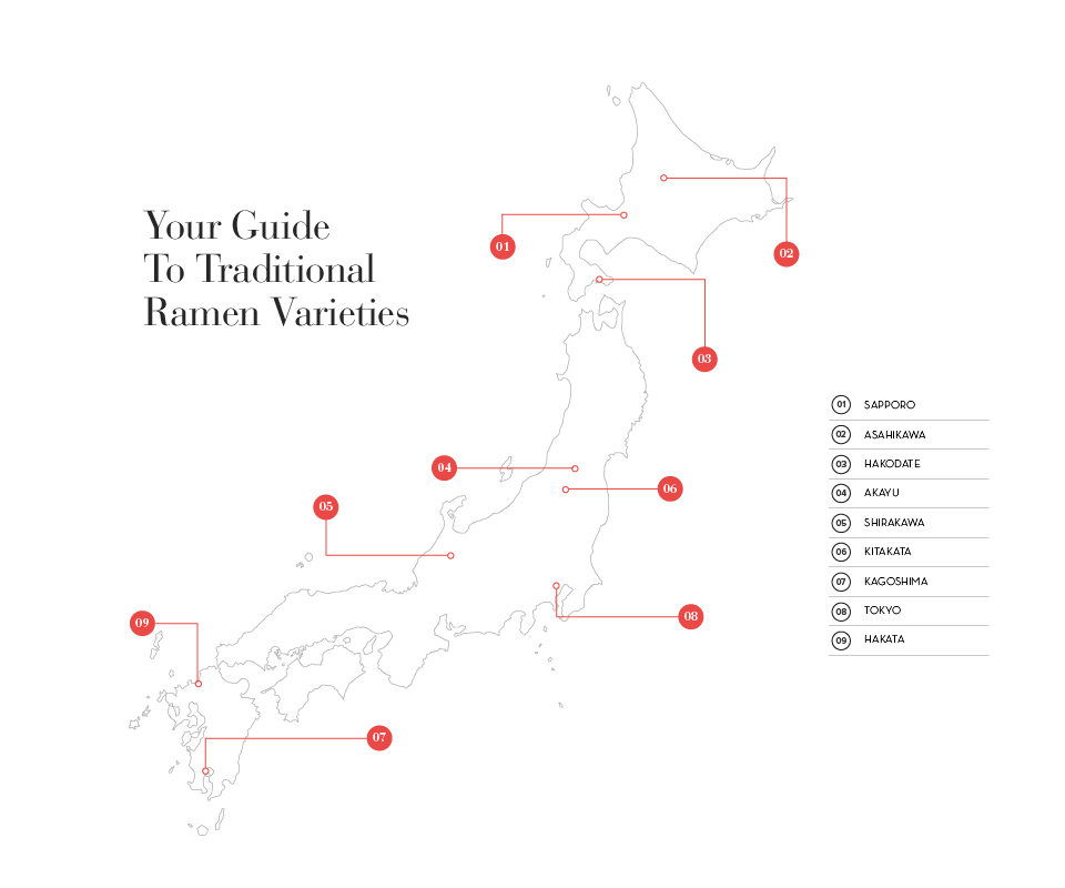 Your guide to traditional ramen varieties