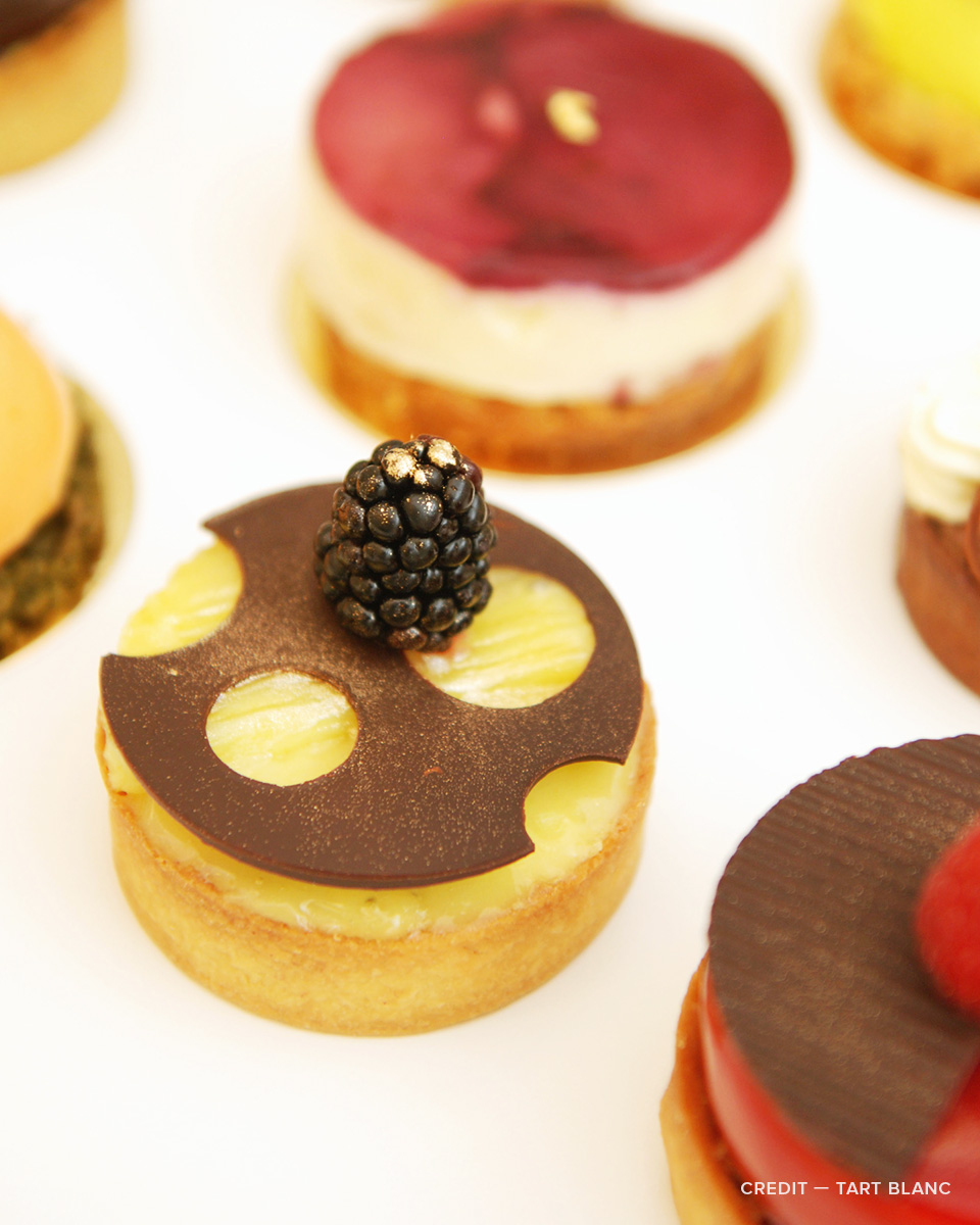 Delectable tarts from Tart Blanc