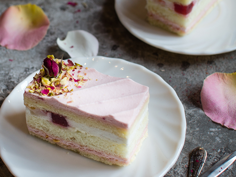 Celebrate Mother's Day with Joe & Dough's fruity-floral cakes!