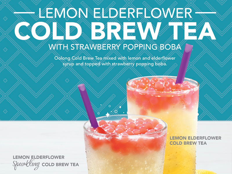 Stepped Right, Cold Brew Tea