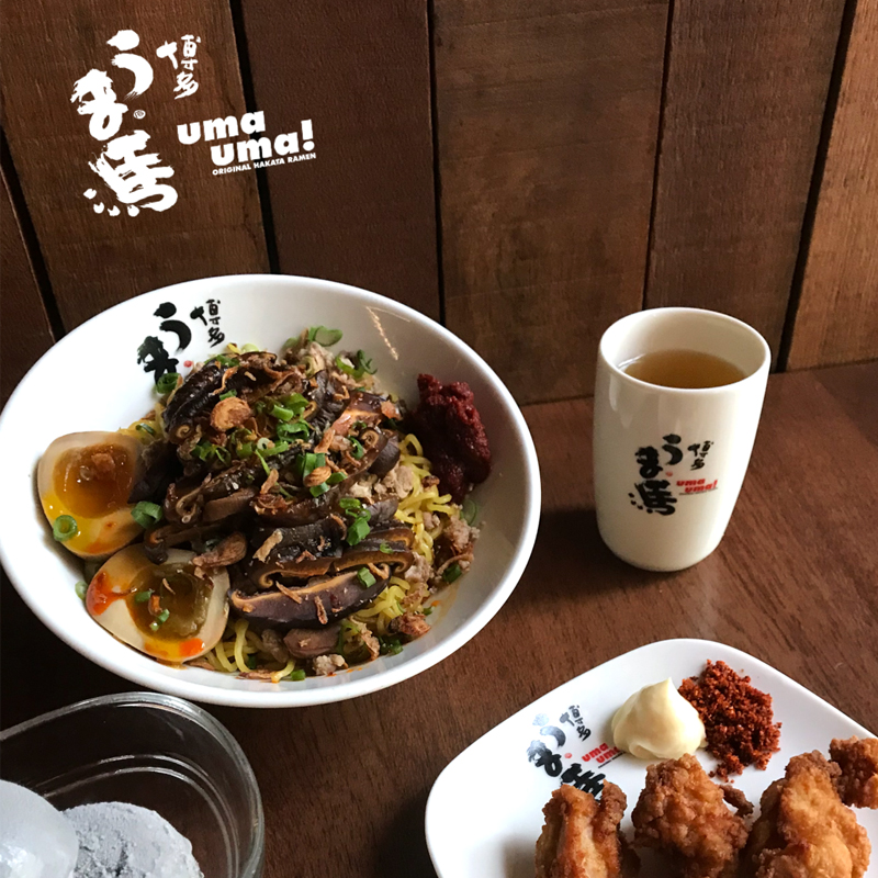 Uma Uma goes local with Bak Chor Ramen