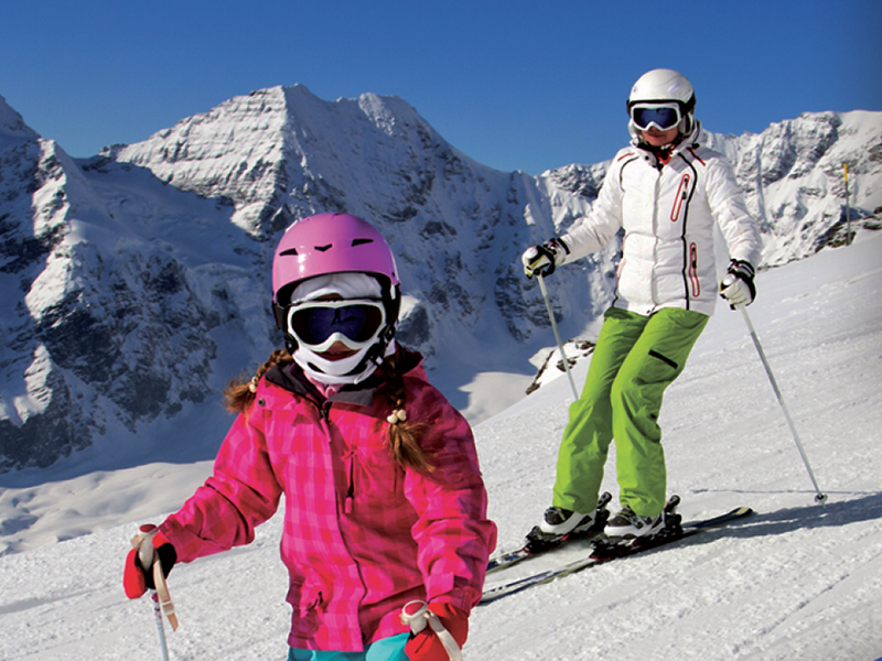 Master the art of skiing or learn a new sport this year!