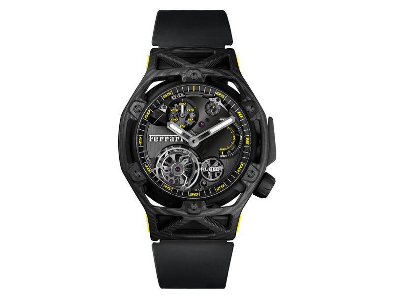 New synergies from the The Ferrari-Hublot partnership