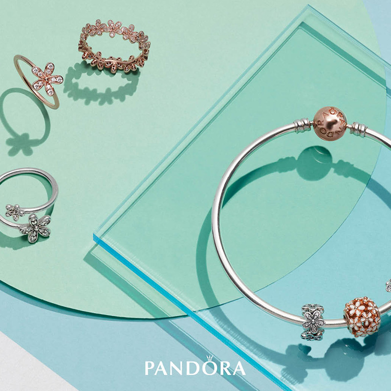 Explore the PANDORA Rose Collection in stores now!
