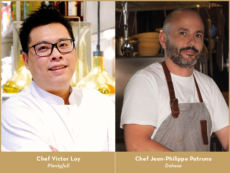 Be there for Plentyfull's first ever Chef Jamming Session with Jean-Philippe Patruno of critically acclaimed Dehesa and Head Chef Victor Loy of Plentyfull.