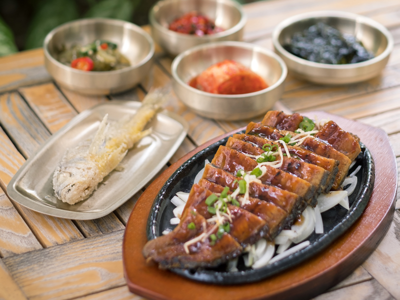Start the new year with fresh Korea imported unagi at SBCD Korean Tofu House