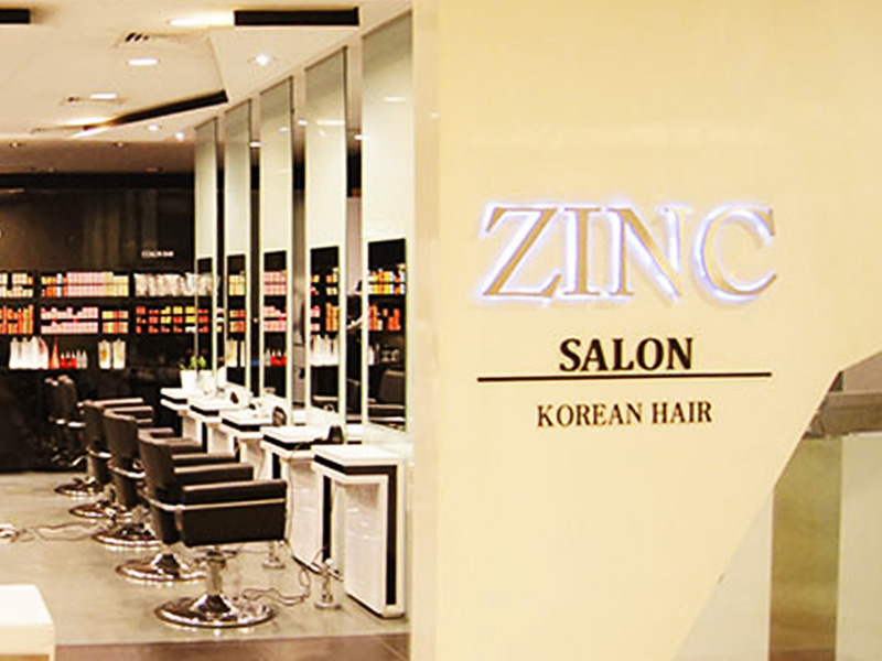 ZINC Korean Hair Salon brings the best in a wide range of hair services
